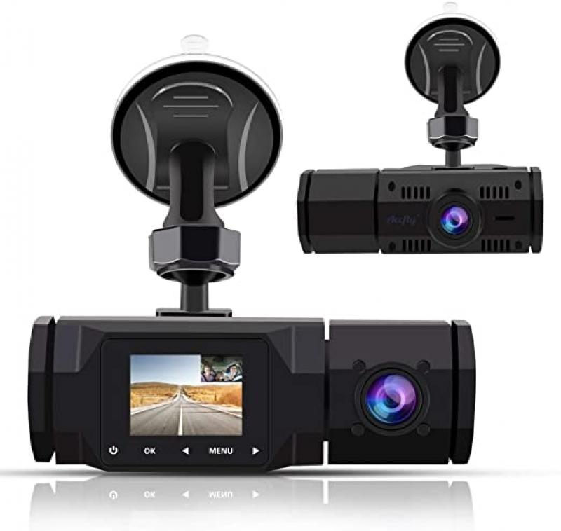ihocon: Accfly Dual Dash Cam,1080P雙鏡頭行車記錄器