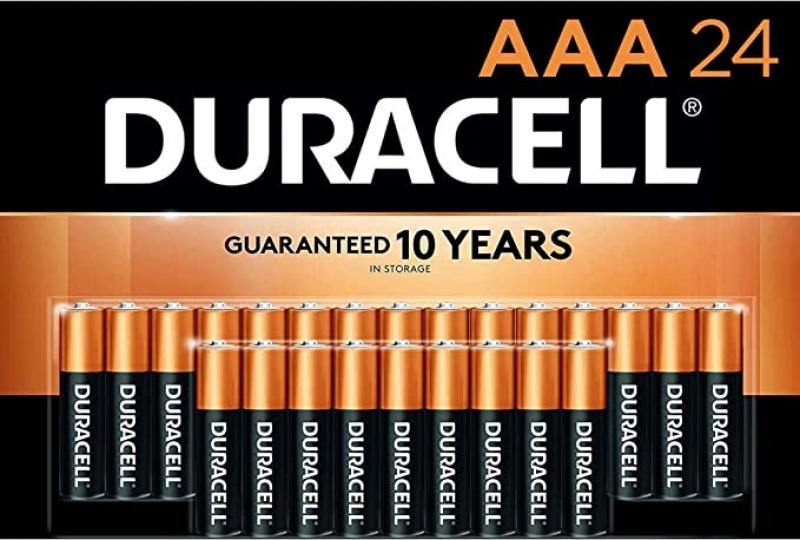 ihocon: Duracell CopperTop AAA Alkaline Batteries, 24 Count電池