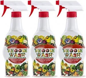 Veggie Wash 天然蔬果清洗劑 16oz 3瓶 $13.09