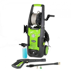 ihocon: Greenworks 1700 PSI 13 Amp 1.2 GPM Pressure Washer with Hose Reel GPW1702 高壓清洗機