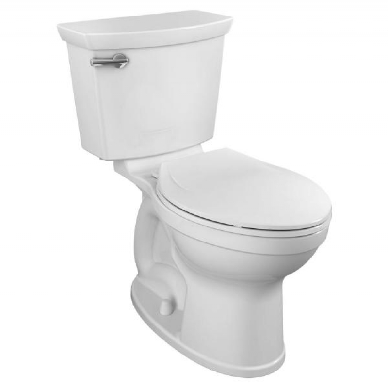 ihocon: American Standard Champion Tall Height 2-Piece High-Efficiency 1.28 GPF Single Flush Elongated Toilet  馬桶