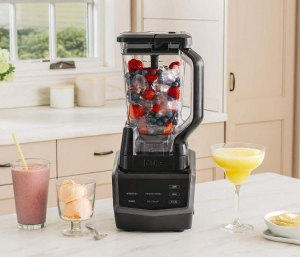 ihocon: Ninja Smart Screen Blender with 1000-Watt Base, 4-Auto-iQ Programs, Touchscreen Display食物調理機