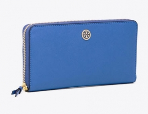 ihocon: Tory Burch Robinson Zip Continental Wallet女士長皮夾