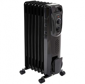 ihocon: AmazonBasics Portable Radiator Heater, Black 電暖氣