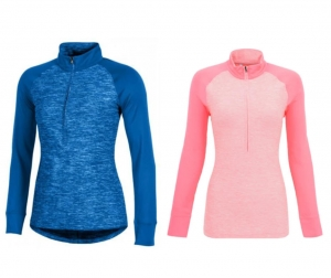 Under Armour 女士1/4拉鍊套頭衫 – 2色可選 $19.99(原價$75)