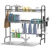 ihocon: Veckle Over The Sink  2 Tier Dish Drying Rack 雙層水槽碗盤架