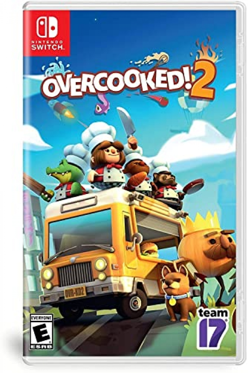 ihocon: Nintendo Switch遊戲 - Overcooked! 2