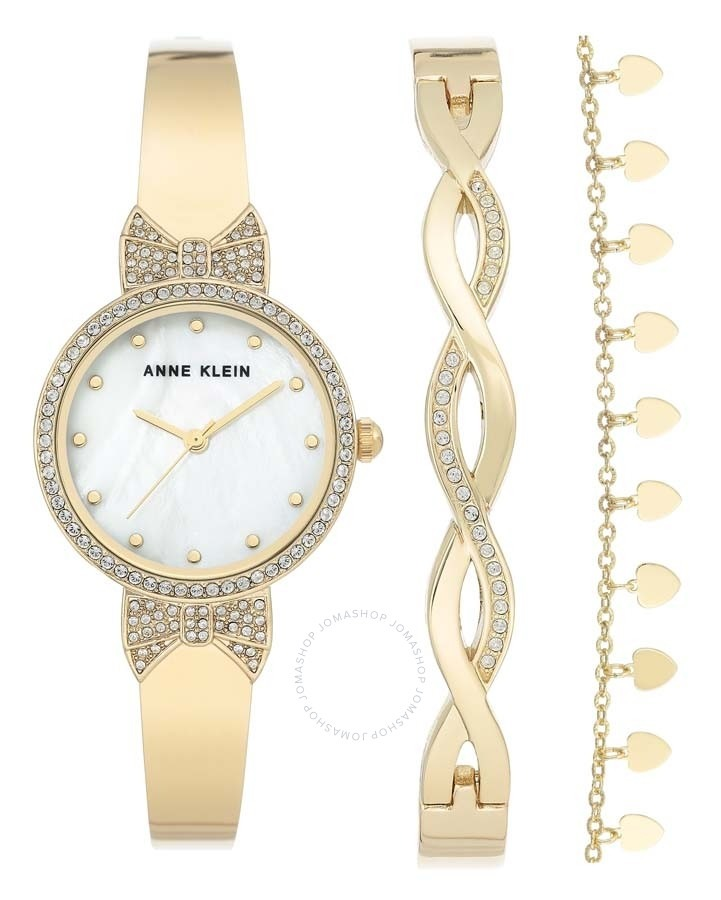 Anne Klein 女錶及手鍊 $49.99(原價$150)