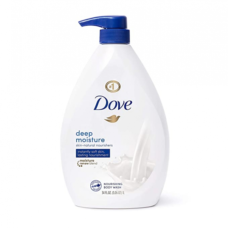ihocon: Dove Body Wash with Pump with Skin Natural Nourishers, 34 oz 保濕乳