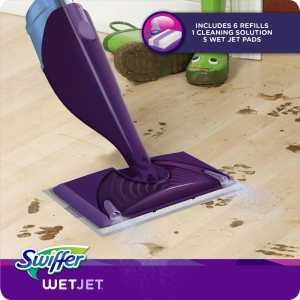ihocon: Swiffer WetJet Power Mop Starter Kit  噴水拖把