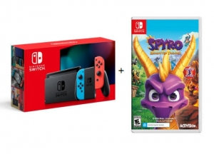 ihocon: Nintendo Switch Console + Spyro Reignited Trilogy Game
