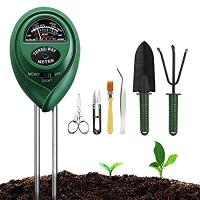 ihocon: G TASTE Soil Moisture Meter Sunlight Tester with Upgrade Bonsai Tools 土壤酸鹼度, 濕度, 光照測試儀及園藝工具