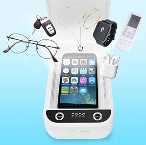ihocon: WiYA Portable Smart Mobile Phone Cleaner with USB Charging 手機/小物消毒盒