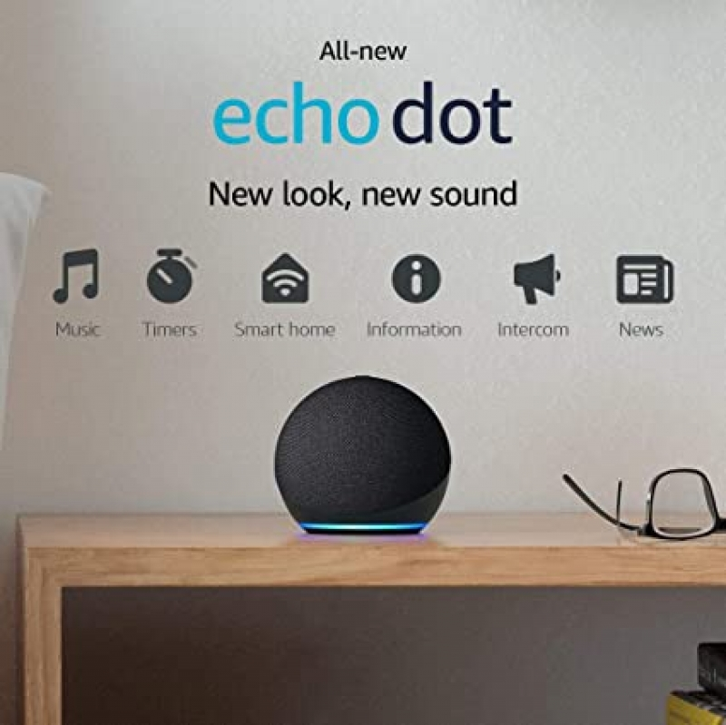 ihocon: All-new Echo Dot (4th Gen) | Smart speaker with Alexa