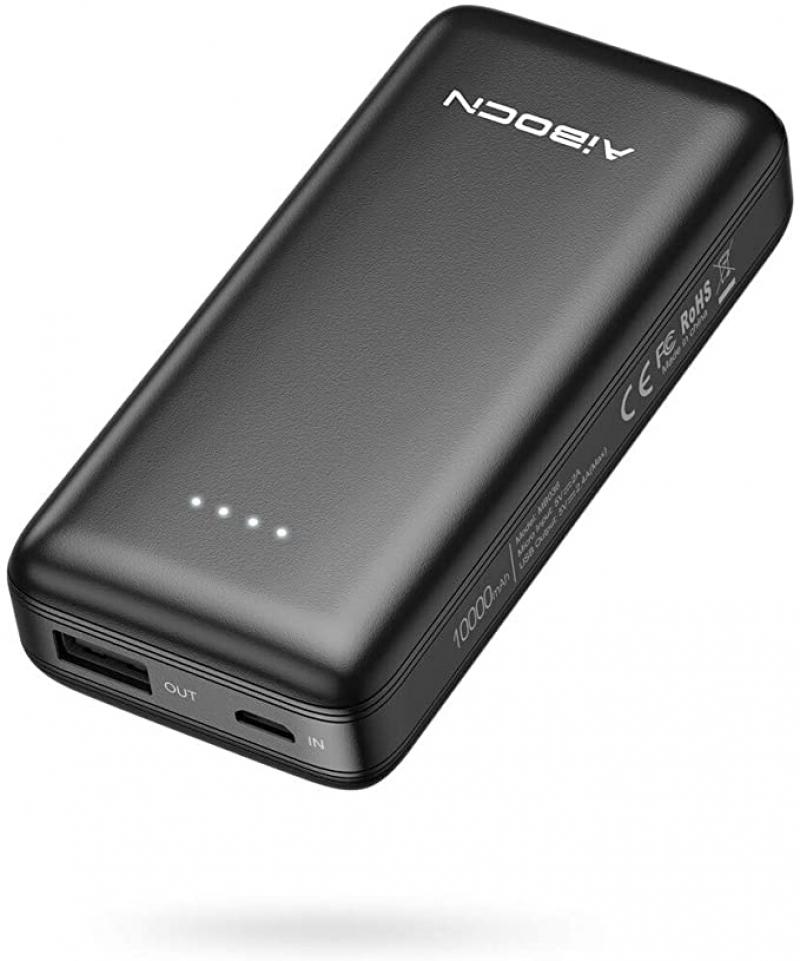 ihocon: Aibocn 10000mAh Power Bank with USB Port 行動電源/充電寶
