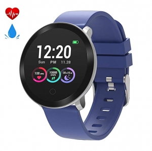 ihocon: moreFit Halo Fitness Tracker HR, Activity Tracker Smart Watch 心率, 運動監測智能錶