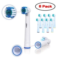 ihocon: Ywey Toothbrush Replacement Heads Refill for Oral-B Electric(8 Count) 電動牙刷替換刷頭(適用Oral-B)