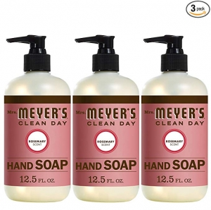 ihocon: Mrs. Meyer´s Clean Day Hand Soap, Rosemary, 12.5 fl oz, 3 ct 迷迭香手工液皂