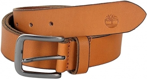 ihocon: Timberland Men's Classic Jean Leather Belt Wheat 男士皮帶