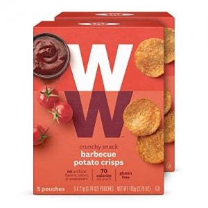 ihocon: WW Barbecue Potato Crisps - Gluten-free & Kosher, 2 SmartPoints - 2 Boxes (10 Count Total)薯片