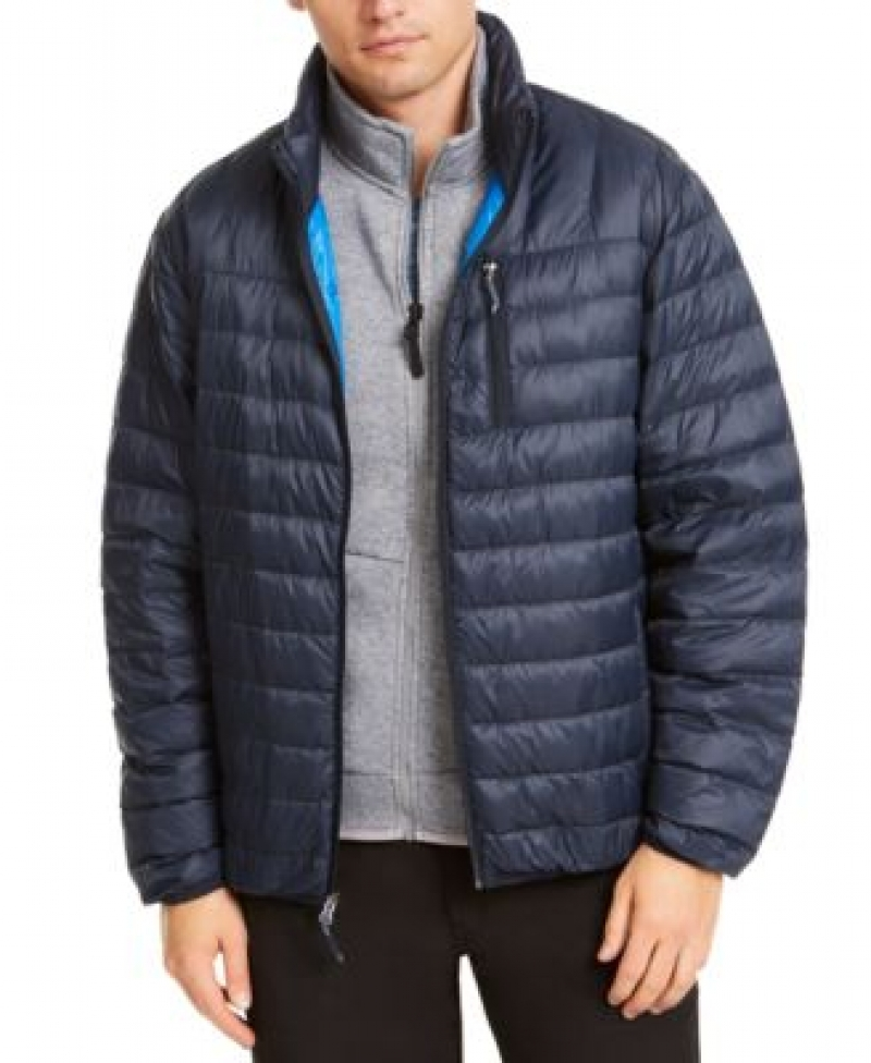 ihocon: Hawke & Co. Outfitter Men's Packable Down Blend Puffer Jacket 男士夾克 - 多色可選