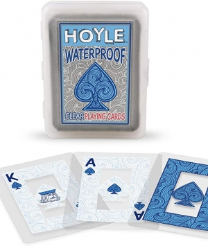 ihocon: Hoyle Waterproof Clear Playing Cards 防水撲克牌