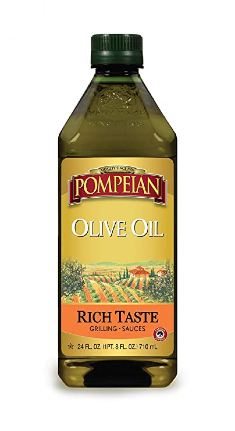 ihocon: Pompeian Rich Taste Olive Oil, 24 Fl Oz 橄欖油
