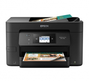 ihocon: Epson WorkForce Pro WF-3720 Wireless All-in-One Inkjet Printer (Black)無線彩色噴墨多功能印表機(print/copy/scan)