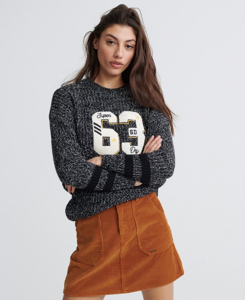 ihocon: Superdry極度乾燥 Varsity Logo Twist Jumper 女士毛衣