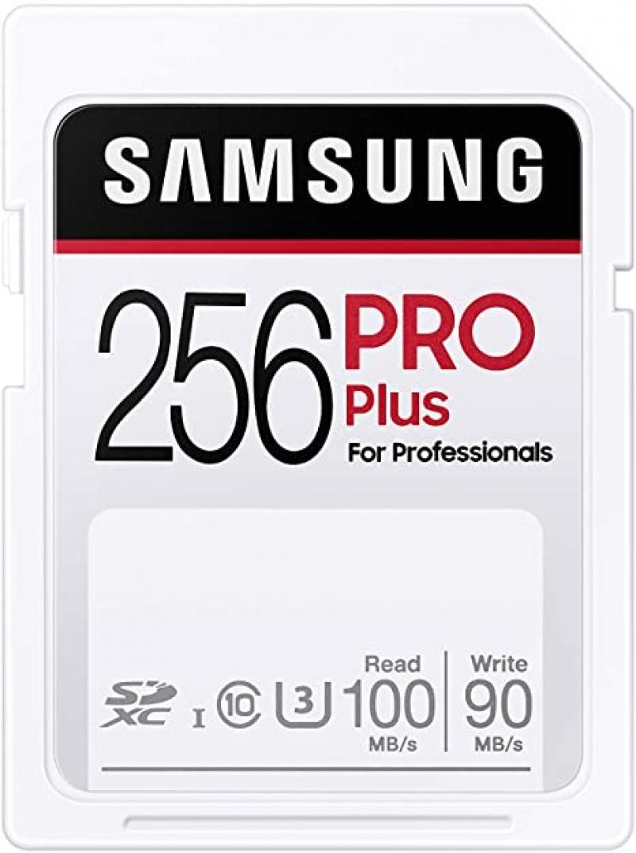 ihocon: SAMSUNG PRO Plus SDXC Full Size SD Card 256GB 記憶卡
