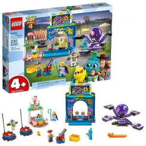 ihocon: LEGO Disney Pixar's Buzz Lightyear & Woody's Colorful Carnival Mania Toy Story Building Playset 10770 樂高積木玩具總動員