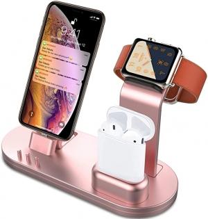 ihocon: OLEBR 3 in 1 Charging Stand 3合1 手機/手錶/耳機 充電座