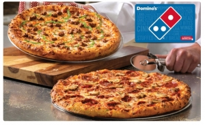 $25 Domino's eGift card 只賣$20