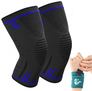 ihocon: M SUNRISE Knee Sleeves for Women & Men護膝一副