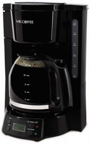 ihocon: Mr. Coffee 12-Cup Programmable Coffee Maker, Black 咖啡機