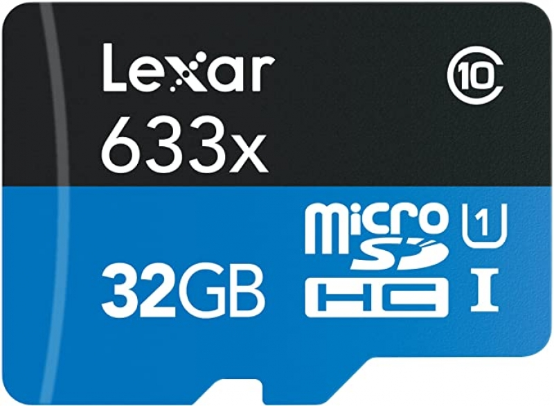 ihocon: Lexar High-Performance 633x 32GB MicroSDHC UHS-I Card with SD Adapter 記憶卡