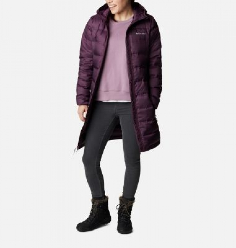 ihocon: Columbia Women's McKay Lake™ II Down Long Jacket 女士連帽羽絨長外套