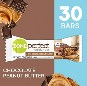 ihocon: ZonePerfect Nutrition Snack Bars, Chocolate Peanut Butter, 1.76 oz, (30 Count)