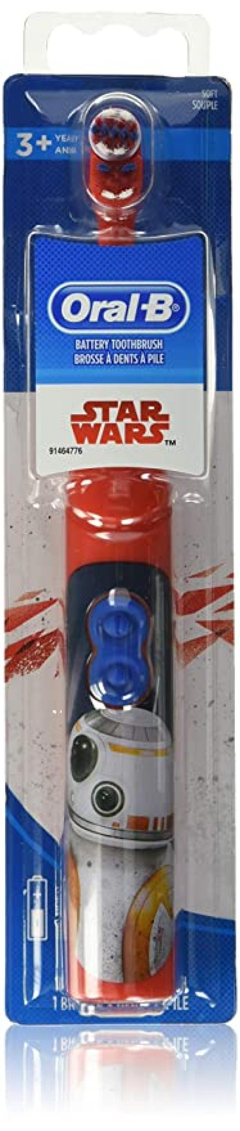 ihocon: Oral-B Disney STAR WARS Kids Battery Powered Electric Toothbrush 兒童電動牙刷(使用電池)