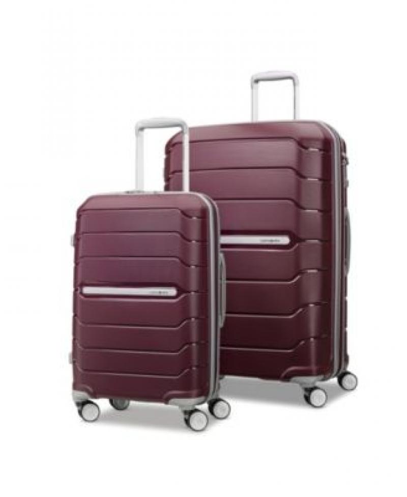 ihocon: Samsonite Freeform 2-Pc. 21 & 28 Hardside Luggage Set 硬殼行李箱
