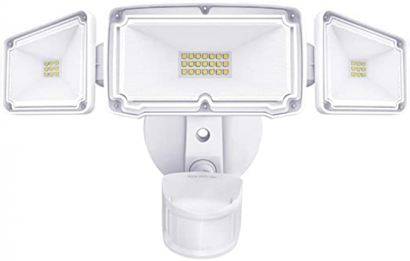 ihocon: Amico 3 Head LED Security Lights 3500 Lumens 動作感應室外燈