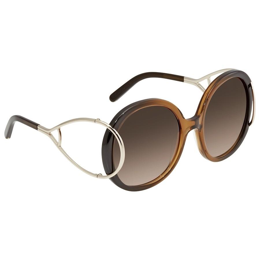 ihocon: Chloe Brown Gradient Ladies Sunglasses CE703S23356 女士太陽眼鏡