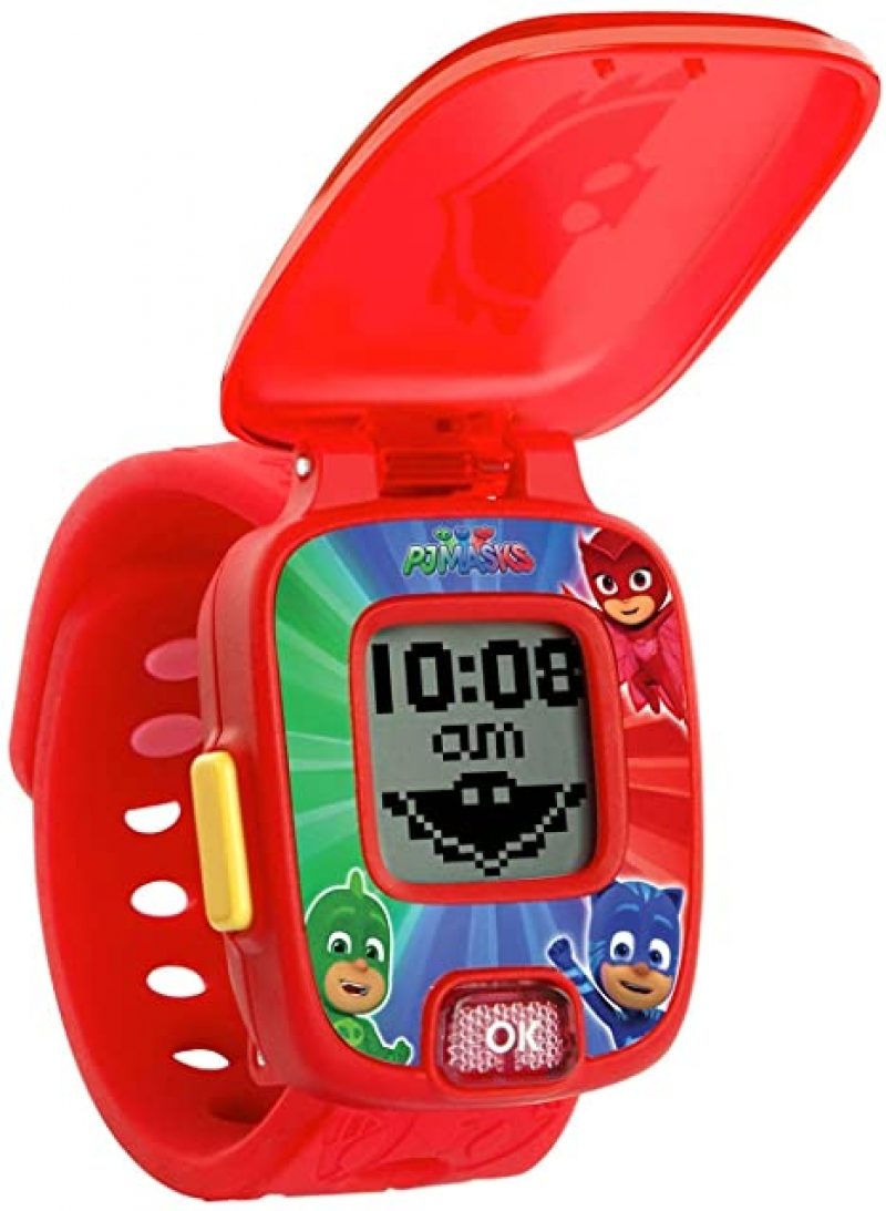 ihocon: VTech PJ Masks Super Owlette Learning Watch 兒童學習錶 (數字, 形狀, 加減..)