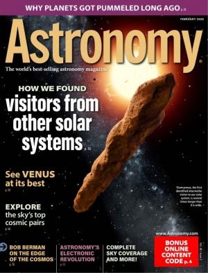 Astronomy 天文雜誌一年12期 $13.99(原價$59.40)