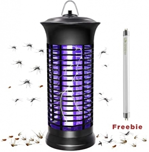 ihocon: HUNTINGOOD Electric Bug Zapper 電蚊/蟲燈, 含替換燈泡