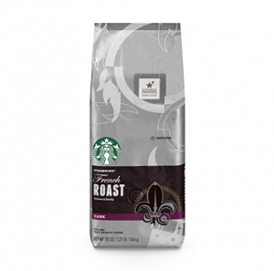 ihocon: Starbucks星巴克 French Roast Dark Roast Ground Coffee, 20-Ounce Bag