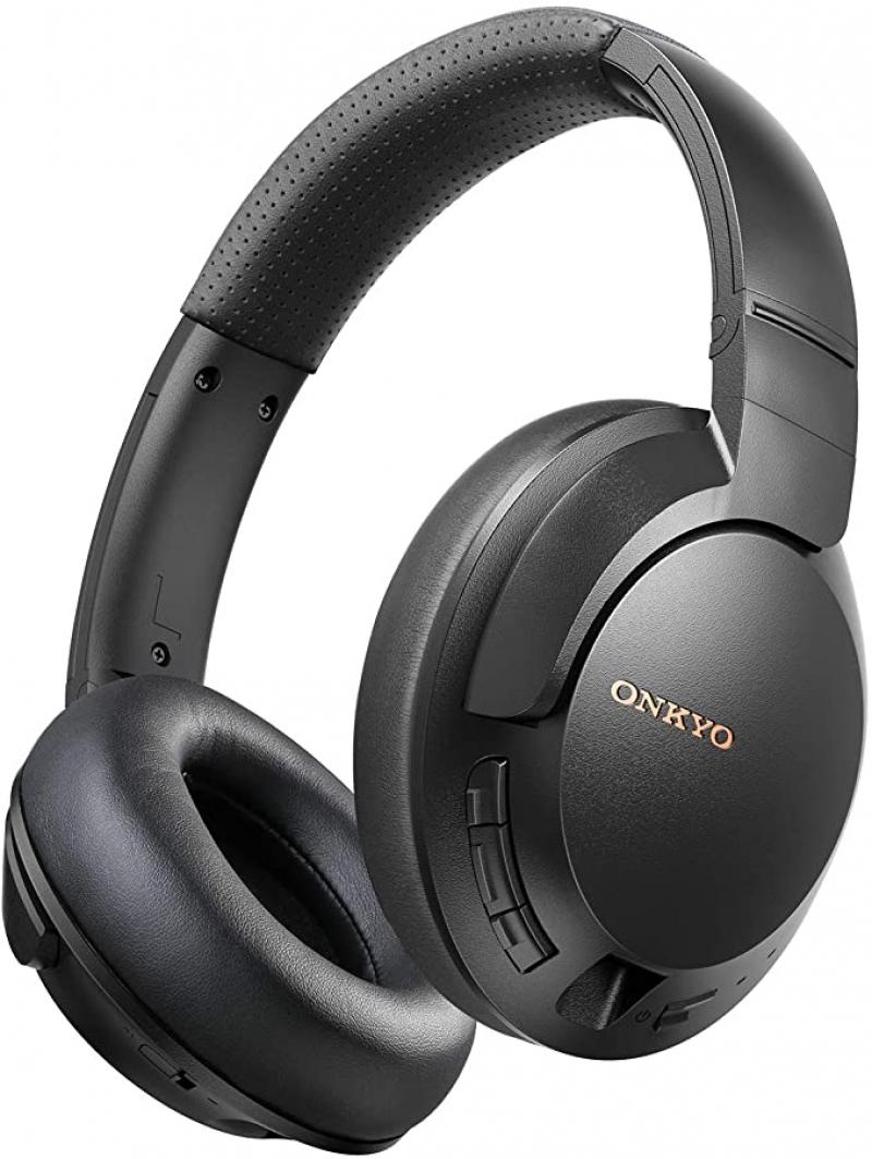 ihocon: ONKYO by TCL Active Noise Cancelling Wireless Headphones 藍牙無線主動降噪耳機