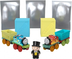 ihocon: Thomas & Friends Fisher-Price MINIS, Fizz 'n Go Mega Pack