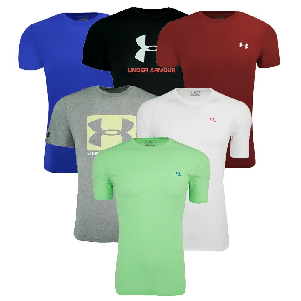 Under Armour男士T-Shirt 10件 (花色不一定)  $75免運, 算起來一件才$7.5!