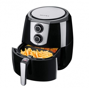 ihocon: Secura Electric Hot Air Fryer 1800 Watts Extra Large Capacity 5.2l / 5.5qt超大容量氣炸鍋